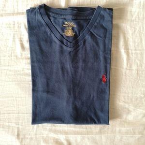 Polo Ralph Lauren Classic Fit V Neck T Shirt S NWT